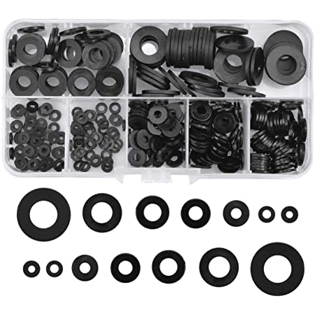 Plat en nylon noir en plastique Rondelle Entretoises M3 M4 M5 M6 M8 Multi Pack Free UK POST