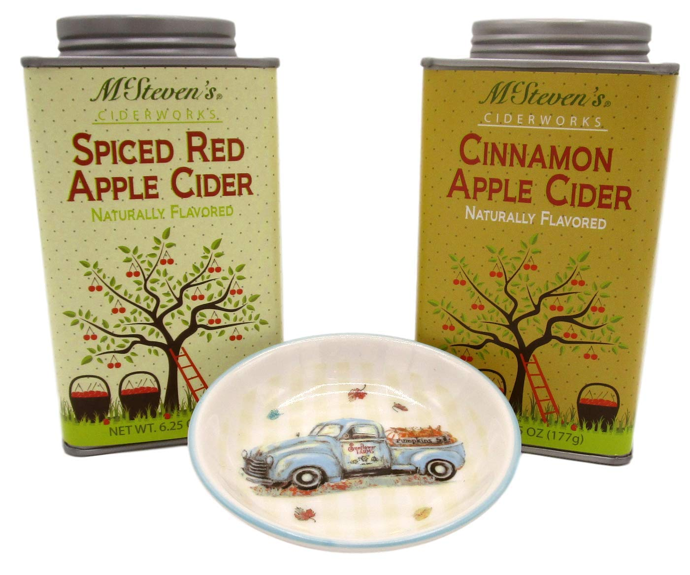 Fall Flavors Hot Drink Mix Bundles (#1 Apple Cider - Spiced Red and Cinnamon)