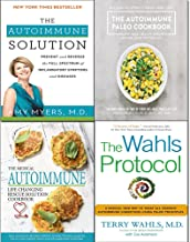 Wahls protocol, autoimmune solution, paleo cookbook and medical autoimmune life 4 books collection set