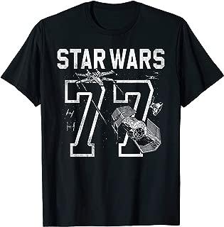 Star Wars '77 Collegiate Jersey Dog Fight Graphic T-Shirt