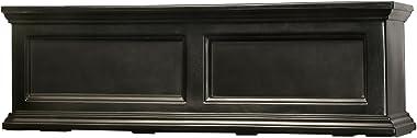 Mayne Fairfield 5822B Window Box Planter, 3-Foot, Black
