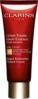 Clarins Super Restorative Tinted Cream SPF 20 All Skin Types 04 Honey - 1.4 Ounce
