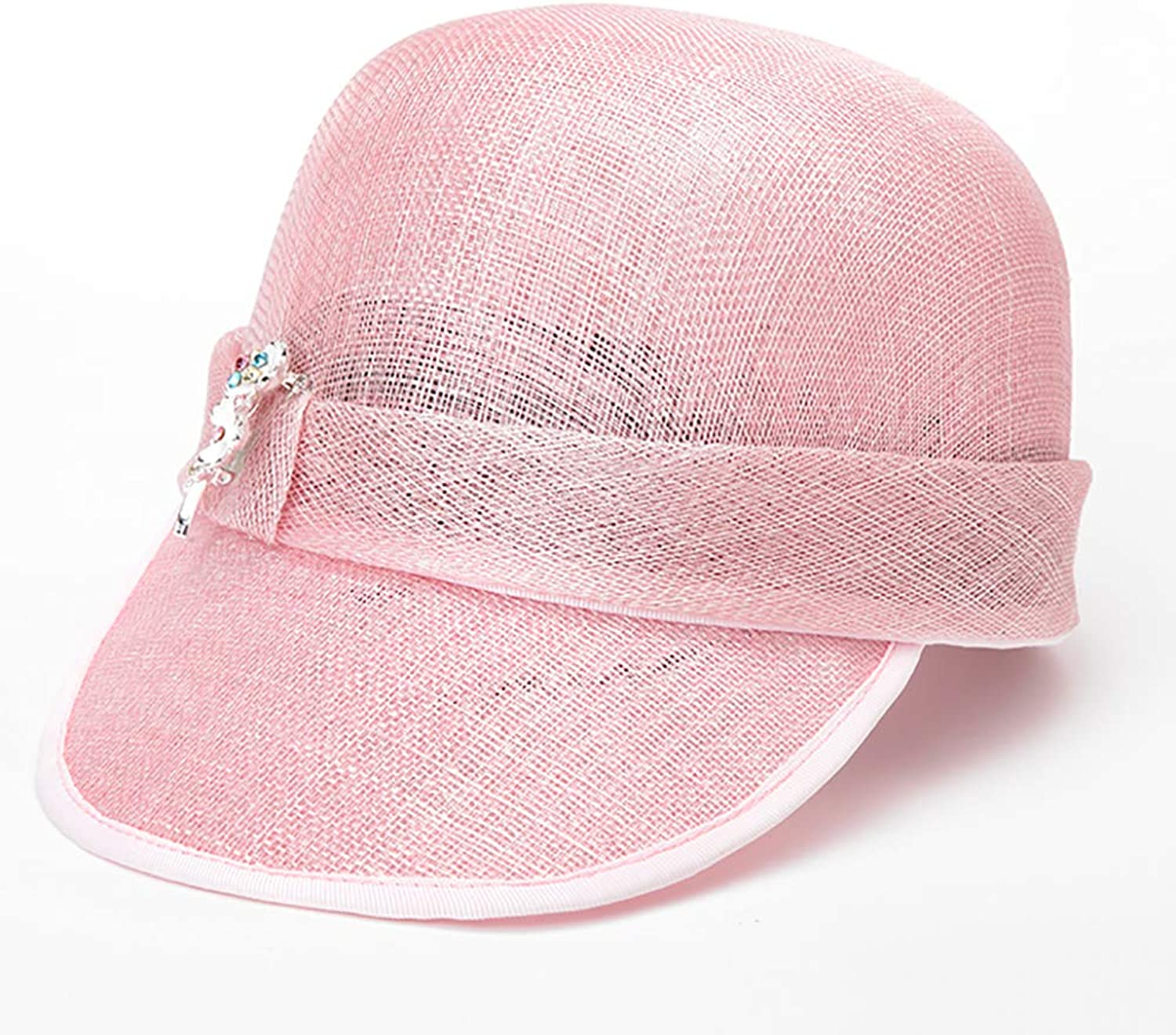 ESOCOME Baseball Cap Pink Female Hat Summer Sunhat Breathable Hat Woman