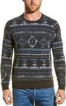 Sol Angeles Mens Aztec Pullover, L, Grey