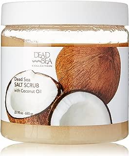 Dead Sea Salt Scrub & Coconut Oil 23.28 OZ