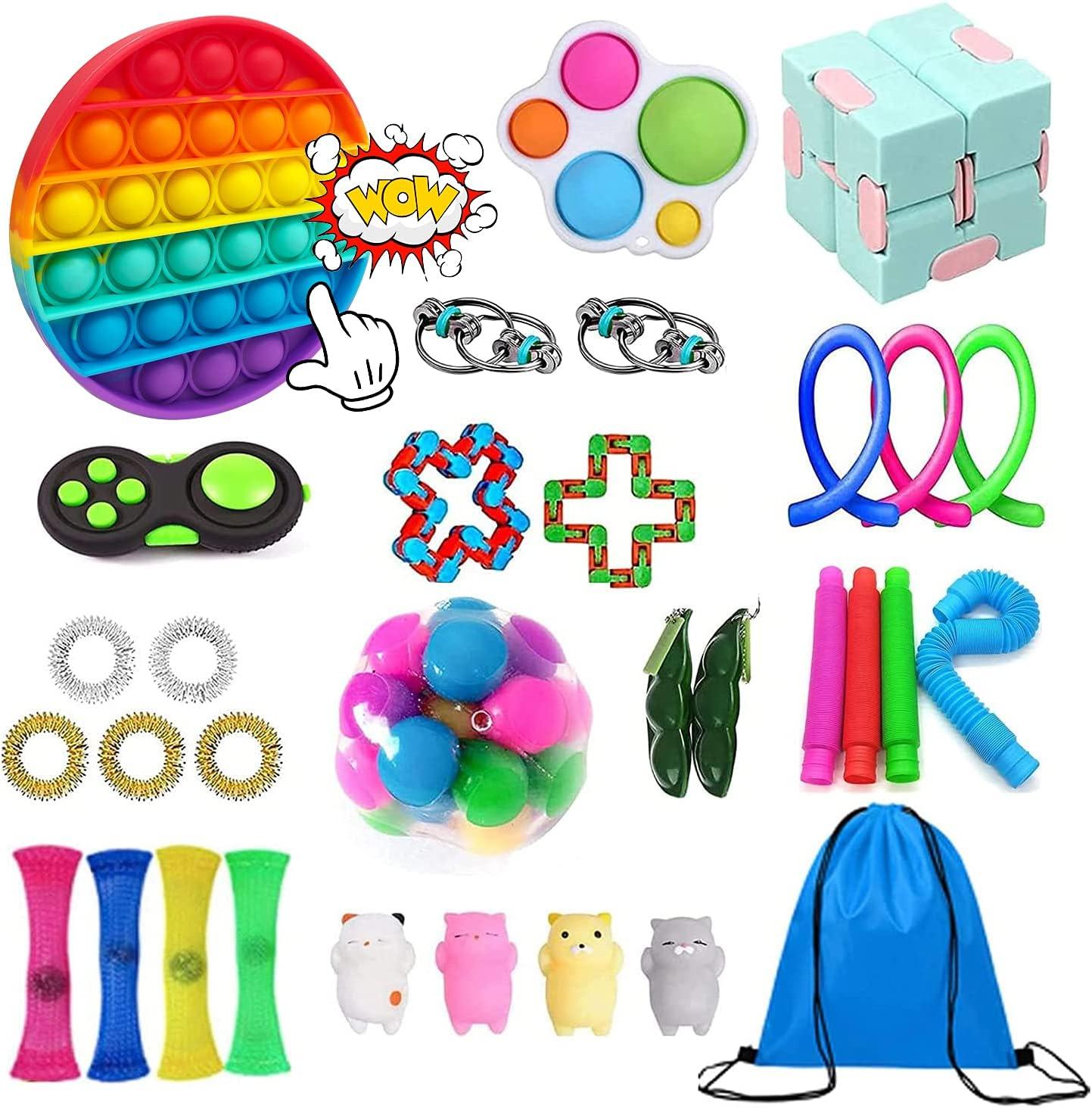 55% OFF OFFicial mail order Vivi90s Sensory Fidget Toys Set Reliev Stress Pack