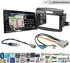 Volunteer Audio Kenwood DNX574S Double Din Radio Install Kit with GPS Navigation Apple CarPlay Android Auto Fits 1990-1997 Honda Accord, 1990-2001 Acura Integra