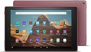 """New Amazon Fire HD 10 Tablet Generation 9th (10.1"""" 1080p full HD display) (32 GB, Plum)"""