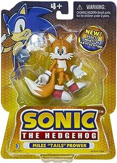 Miles Tails Prower – Figura de acción de 3 pulgadas – 8 cm – Sonic The Hedgehog – Sega