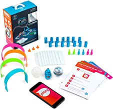 Sphero Mini Activity Kit: App-Enabled Programmable Robot Ball with 55 Piece Construction Set - STEM Educational Toy for Ki...
