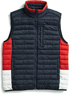 Men's Adaptive Quilted Vest with Magnetic Zipper