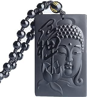 Chaine Collier Pendentif 100/% Acier Bouddha Fengshui
