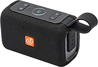 DOSS E-go Alexa-Enabled Portable Bluetooth Speaker with Superior Sound, 33ft Bluetooth Range, Built-in Mic, Ultra-Portable Design, IPX6 Waterproof for Home and Outdoor