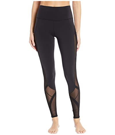 ALO High-Waisted Mosaic Leggings (Black) Women