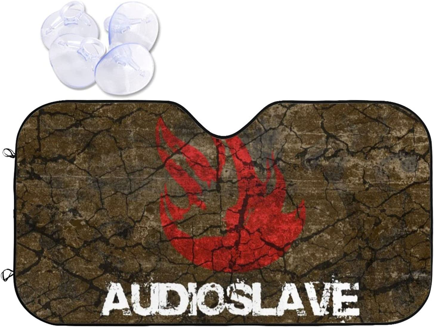 Audioslave Car Sunshade Heat and Windshield Visor Time sale Prevention Spring new work one after another Sun