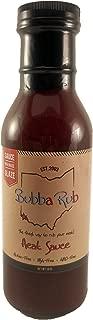 Bubba Rub BBQ Sauce - Finest Way to Rub Your Meat (Heat, 18 Oz Sauce)