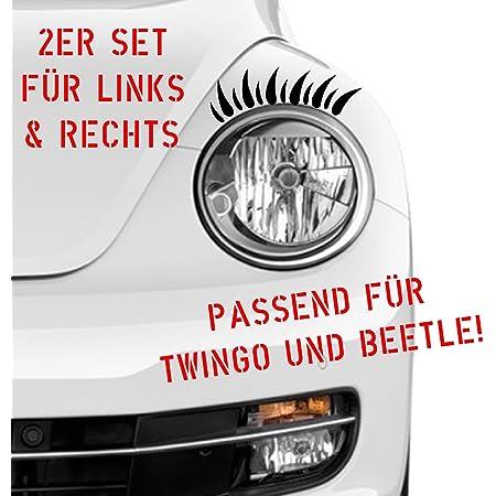 Silence Shopping Schwarz Stereoscopic Auto Peitschen Scheinwerfer Wimpern Zubehör 3m Aufkleber Wimpern Auto Scheinwerfer Auto