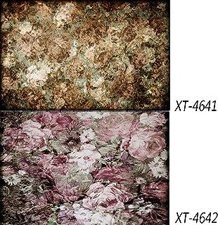 Aosto Hintergrund aus Papier, doppelseitig, wasserfest, ideal für Lebensmittelkuchen, Schmuck, Kosmetik, Obst, Fotografie, 83 x 55 cm