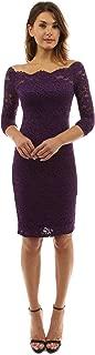 PattyBoutik Women Off Shoulder Floral Lace Twin Set Dress