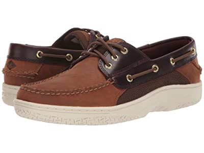 Sperry Billfish 3-Eye Boat Shoe (Brown Buc/Brown 1) Men