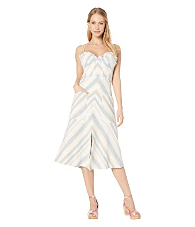 ASTR the Label Anouk Dress (Peach Multi Stripe) Women