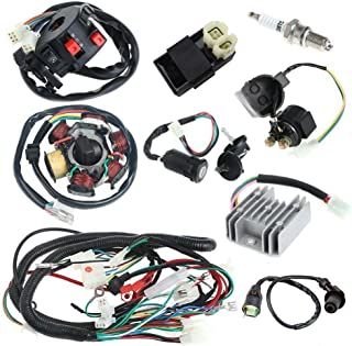 annpee complete electrics wiring harness wire loom magneto stator for gy6  4-stroke engine type