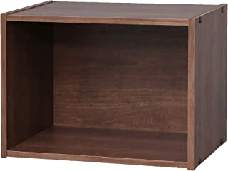Marque Amazon - Movian 1 casier MDF étagère cube bibliothèque, Marron, 41.5 x 29 x 30.5 cm