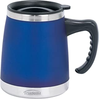 Trudeau Maison Umbria Desk Mug, 15 oz, Blue