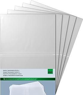 SIGEL SM180 Lot de 50 Pochettes 4 vues, pour 21 x 29,7 cm, en plastique, transparent