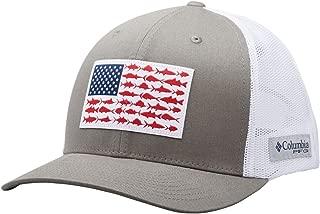 PFG Fish Flag Snap Back Ball Cap, Breathable, Adjustable