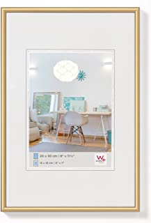 Walther Design KV070G New Lifestyle Picture Frame, 19.75 x 27.50 inch (50 x 70 cm), Gold
