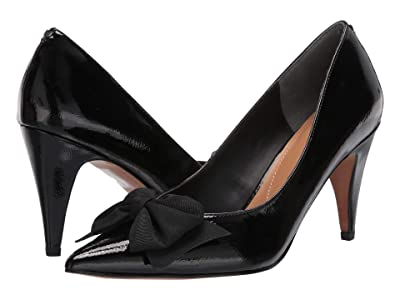 J. Renee Idrease (Black Crinkle) High Heels