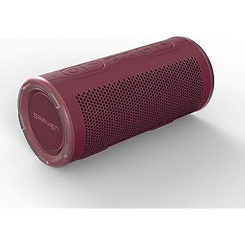 BRAVEN 360 Bocina Portátil Waterproof con Bluetooth - Rojo