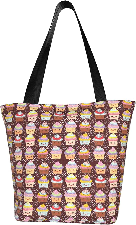 Chocolate Cake Women'S Tote Bargain sale Bag Bageco-Friendly Spasm price Shoulder Shoppin