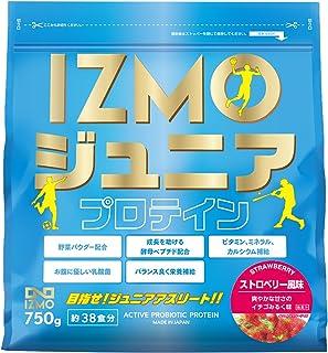 アルプロン IZMO イズモ ジュニアプロテイン ストロベリー風味 750g 生きた乳酸菌BC-30配合(国内生産)