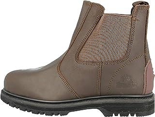 Groundwork Mens Work Slip On Chelsea Dealer Safety Boots Protective Steel Toe Cap