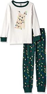 Gymboree 男孩大号 2 件套紧身长袖长裤睡衣套装