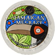 Wolfgang Puck Jamaican Me Crazy Flavored Coffee Single Serve Cups for Keurig, 48Count