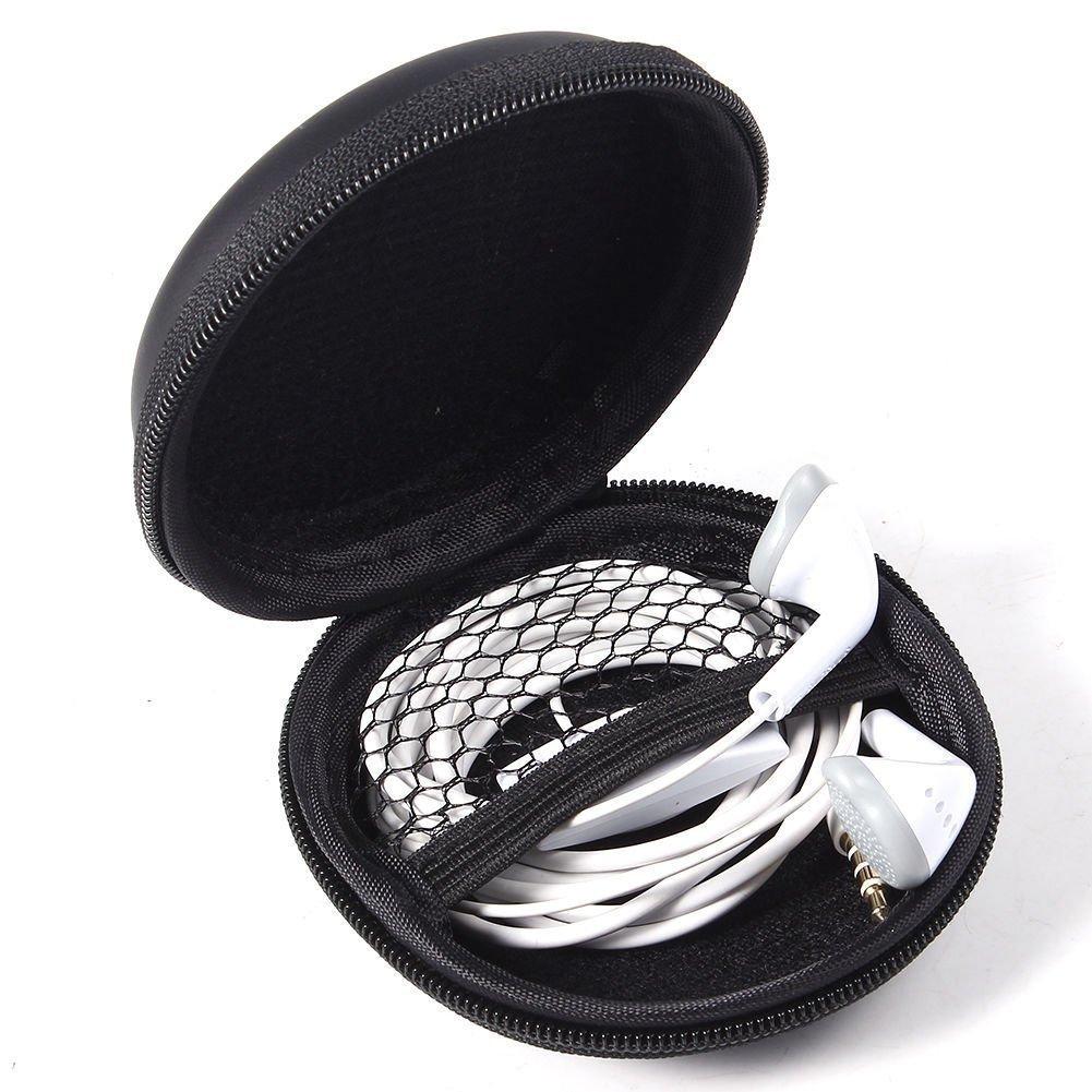 UZIPAL 耳机收纳包 手机配件数据线充电器U盘便携式拉链包收纳盒整理包 (2个装)