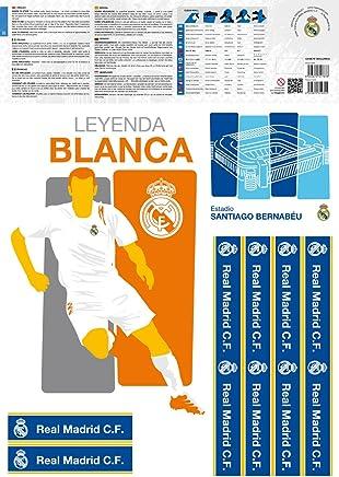 Decoración del hogar Krisdeer Cristiano Ronaldo Real Madrid Football Star Stickers Pegatinas de Pared Decoración de la habitación