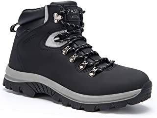 Sponsored Ad - Men's Winter Snow Boots Waterproof Cold-Weather Hiking Boot Warm Fur Lined Non Slip Outdoor Work Trekking S...