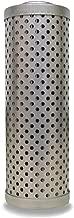 Schroeder N10 Hydraulic Filter Cartridge for NF30, E-Media, Cellulose, Removes Rust, Metallic Debris, Fibers, Dirt; 5.25