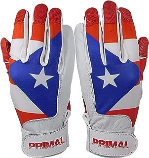 Puerto Rico Baseball Batting Gloves