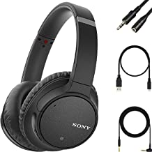 Sony - WH-CH700N Wireless Noise Cancelling Over-The-Ear Bluetooth Built-in Microphone Artificial Intelligence Noise Cancel...