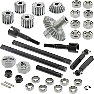 Gmade R1 Rock Crawler Front DIFF, Portal Gears, Drive SHAFTS, AXLESRing Bevel
