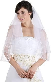 Best veil with swarovski crystals on edge Reviews