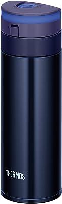 サーモス 水筒 真空断熱ケータイマグ 【ワンタッチオープンタイプ】 0.35L ブラック JNS-350 BK