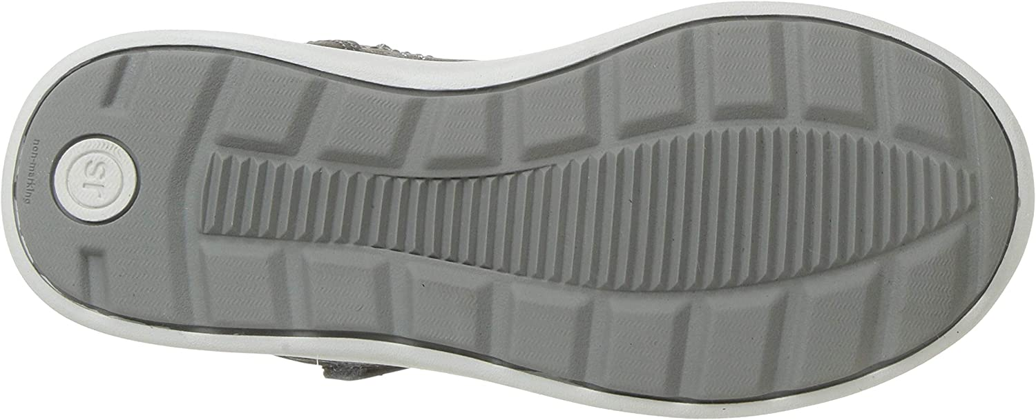 Stride Rite Kids Saul Boys and Girls Machine Washable Leather Sneaker Fashion Boot