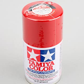 Tamiya America, Inc Polycarbonate PS-60 Bright Mica Red, Spray 100 ml, TAM86060