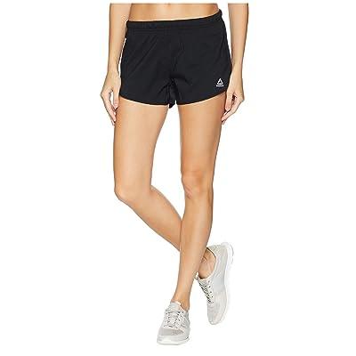 Reebok Running Woven 3 Shorts (Black) Women
